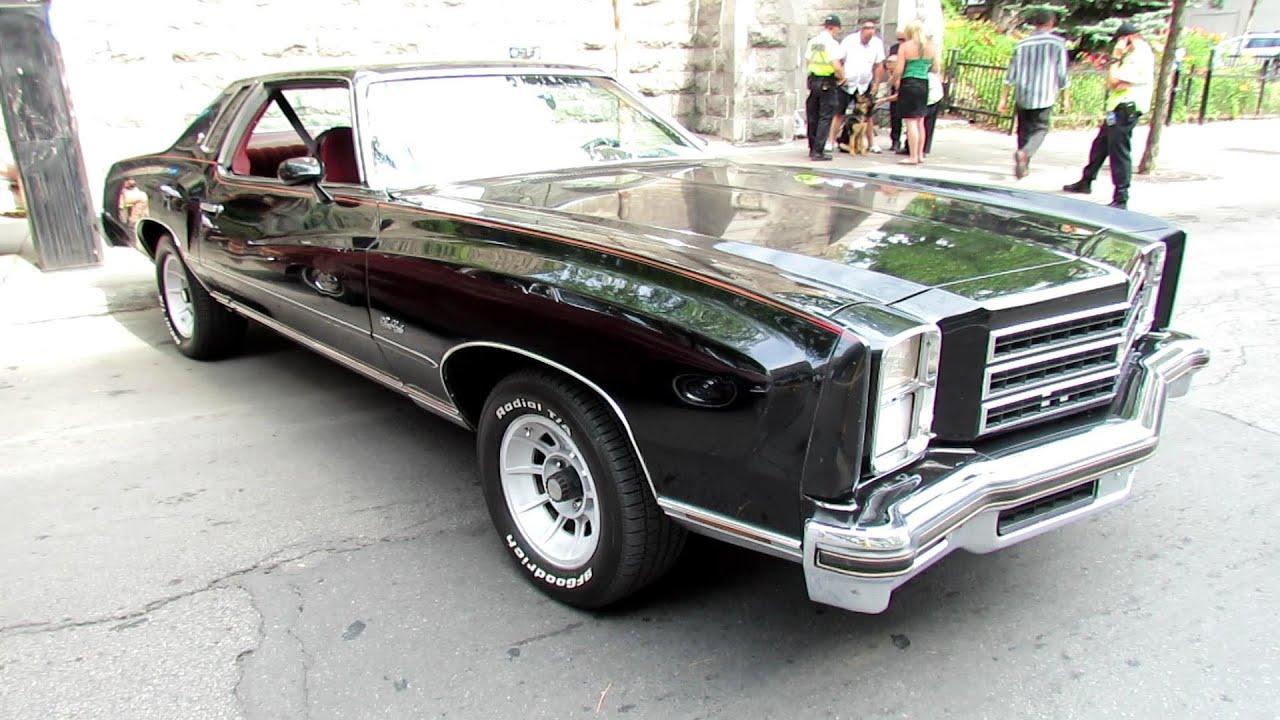 1976 Chevrolet Monte Carlo Exterior And Interior Saint Catherine