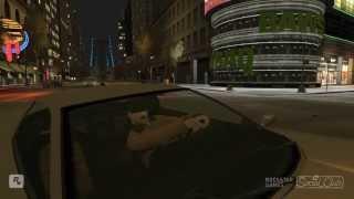 I love GTA4 #1 (PC)  - Awesome Stunts Crash & Death !