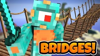 SHE CAME BACK! | Minecraft Bridges W/ MicroGuardian!