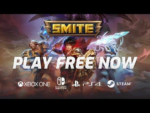 SMITE: Battleground of the Gods - Play Free Now!