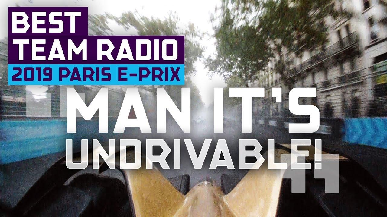 2019 Paris E-Prix | Team Radio Best Moments | ABB FIA Formula E Championship