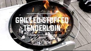 Jose Garces Grilled Stuffed Pork Tenderloin