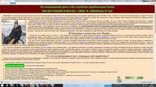 clickunder- название програмы Алексей Добровольцев( развод )