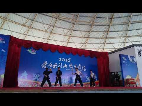 Best chinese wushu sword show in China guangdong
