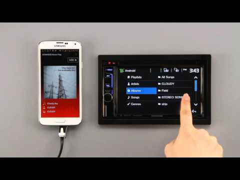 Kenwood AOA 2.0 - Android Music Playback