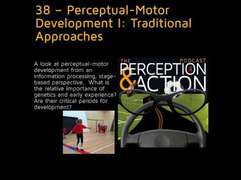 38 – Perceptual-Motor Development I: Traditional Approaches