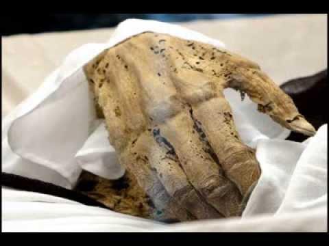 The mummy museum in Vac, Hungary