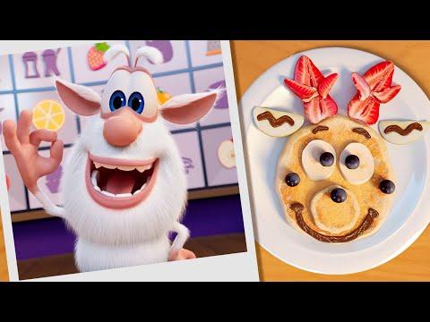 Буба: Кулинарное шоу Бубы и Лулы «Готовим с Бубой» 🥞 Блины - Весёлые мультики - Буба МультТВ