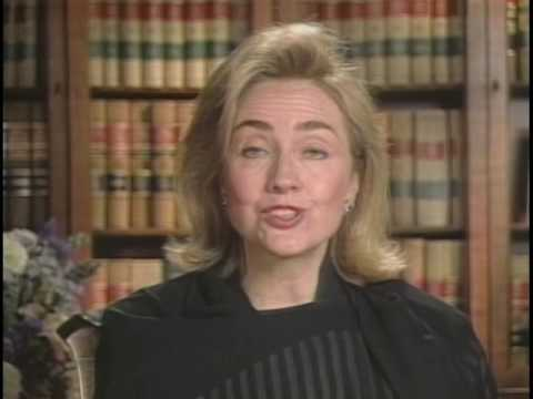 First Lady Hillary Rodham Clinton's Message to the ASMSA (1995)