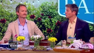 "Neil Patrick Harris & David Burtka on Show ""Wig"" & Duet 