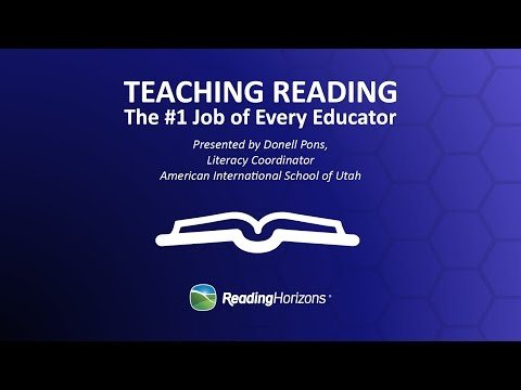 Teaching Reading | The #1 Job of Every Educator