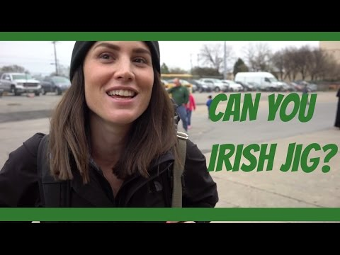 Irish Festival in Dallas w Trent and Siobhan