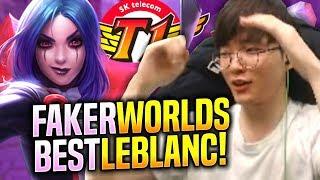 FAKER IS THE BEST LEBLANC IN THE WORLD! - SKT T1 Faker Leblanc vs Aatrox Mid! | S9 KR SoloQ