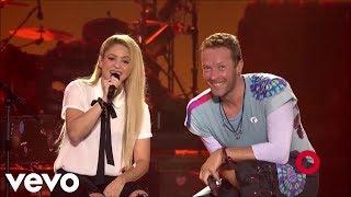 Shakira - Chantaje (Feat. Coldplay) (Live at Global Citizen Festival 2017)