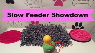 Slow Feeder Showdown