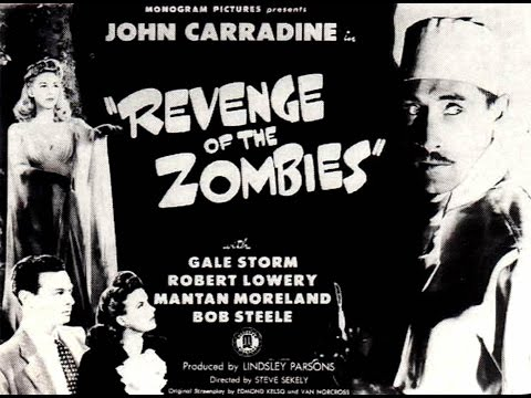 """▶ Misty Brew's Creature Feature-  """"The Revenge Of The Zombies"""" (1943) (Full Movie Episode) +"""