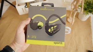Energy Earphones Sport 3: análisis de uno buenos auriculares deportivos