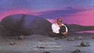 Watch Stevie Wonder Its Wrong Apartheid video