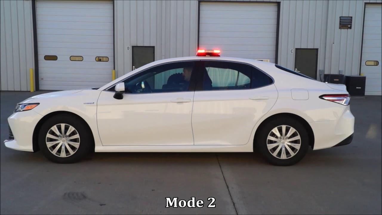 2018 Toyota Camry Hybrid Police Car Youtube
