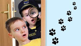 Максим и полицейский расследуют тайную жизнь домашних животных