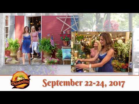 Visit Historic St. Charles Missouri for Oktoberfest September 22-24