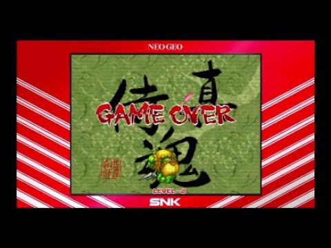 Samurai Shodown Neogeo Collection Game Over |