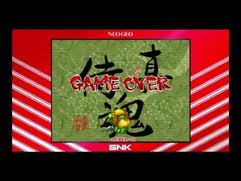 Samurai Shodown Neogeo Collection Game Over |