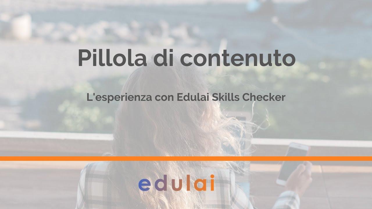 L'esperienza con Edulai Skills Checker