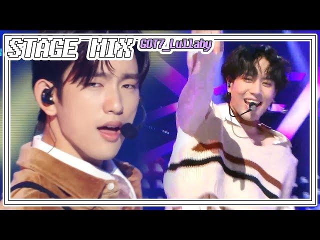 [60FPS] GOT7 - Lullaby 교차편집(Stage Mix) @Show Music Core