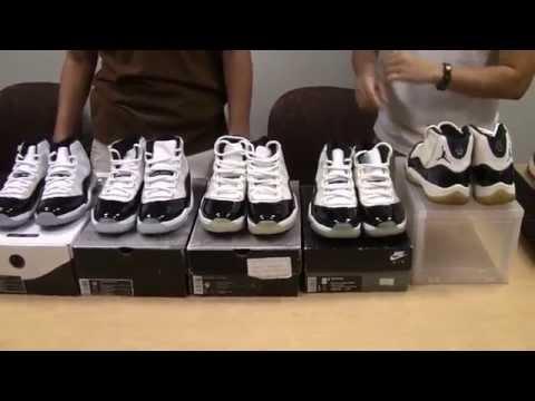 new style dee37 73466 Air Jordan Concord XI 1995 2000 2011 - Past Present Future - YouTube