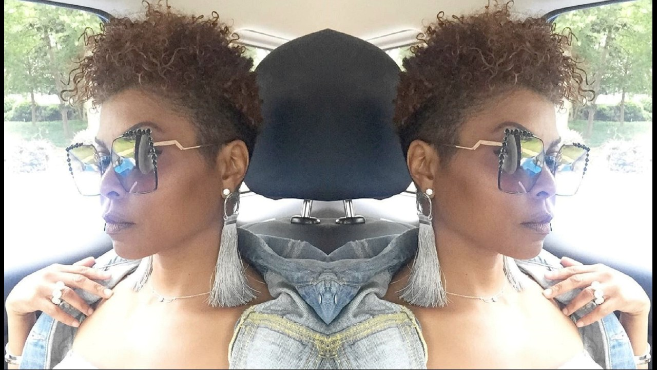 Taraji P Henson New Short Hairdo New Style And Reddish