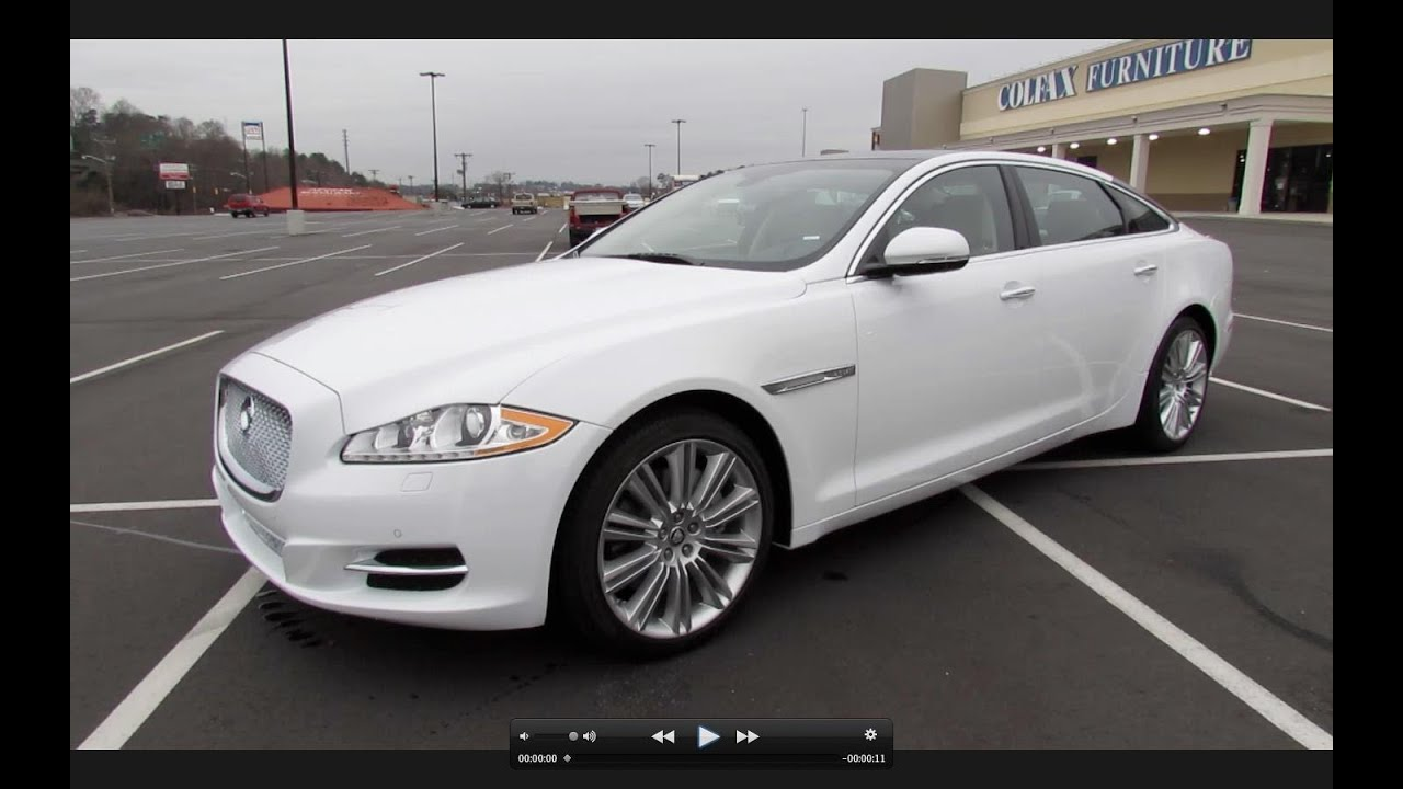 Captivating 2013 Jaguar XJL Portfolio 3.0L Supercharged AWD Start Up, Exhaust, And In  Depth Review   YouTube