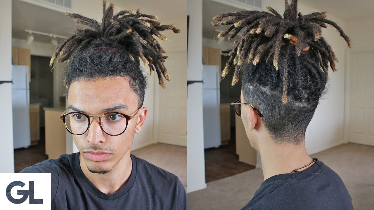 easy hairstyle for dreadlocks