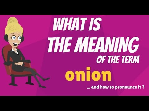 onian meaning