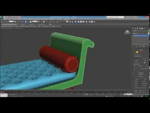 How to make a 3d sofa model in 3ds max tutorial beginners for 3d max lessons for beginners