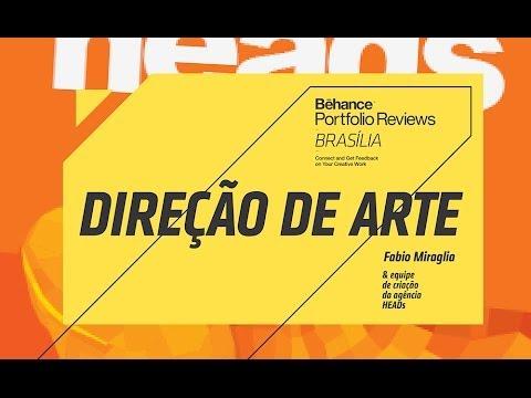 03 - Direção de arte com Fabio Miraglia - HEADS - Behance Brasília