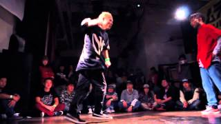 SHUHO vs CanDoo SEMI FINAL② / DANCE@LIVE FREESTYLE KANTO vol.4 2015