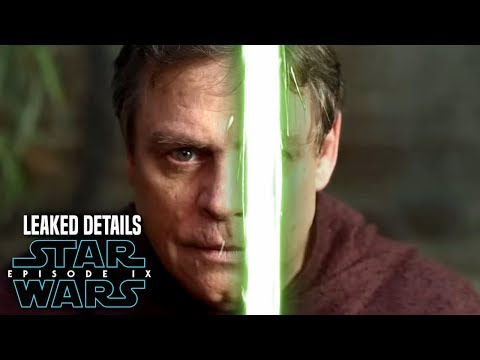 Star Wars Episode 9 Luke! Leaked Details Revealed & Potential Spoilers