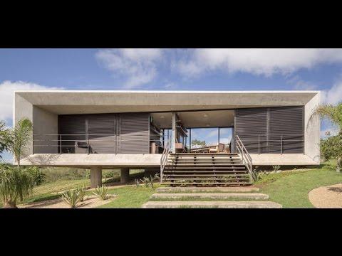 Casa peque a de hormig n con hermosas visuales al exterior - Opiniones sobre casas prefabricadas ...