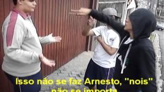 Samba do Arnesto - Trabalho de gramática