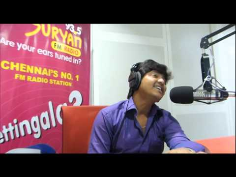 Suryan FM 93.5 SEMA COMEDY SIR - Behind the mic