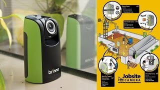 Brinno BCC100 Construction Time Lapse Camera - Instant Video With No Editing or Post Processing