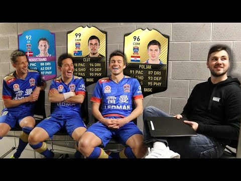 FOOTBALLERS REACT TO THEIR FIFA 17 STATS!!!