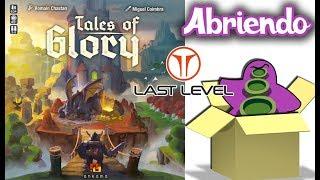 Tales of Glory - Dentro de la Caja - Unboxing Juego de Mesa