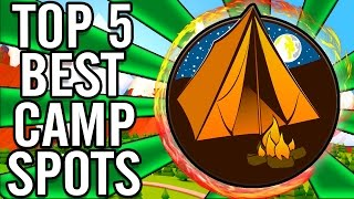 """""""Top 5"""" """"SOLO Camping Spots""""/""""Camping Spots"""" in """"Call of Duty WaW/BO/Bo2 Zombies"""" ~ """"OFFICIAL"""""""