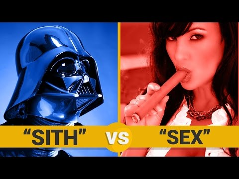 SITH VS SEX - Google Trends Show
