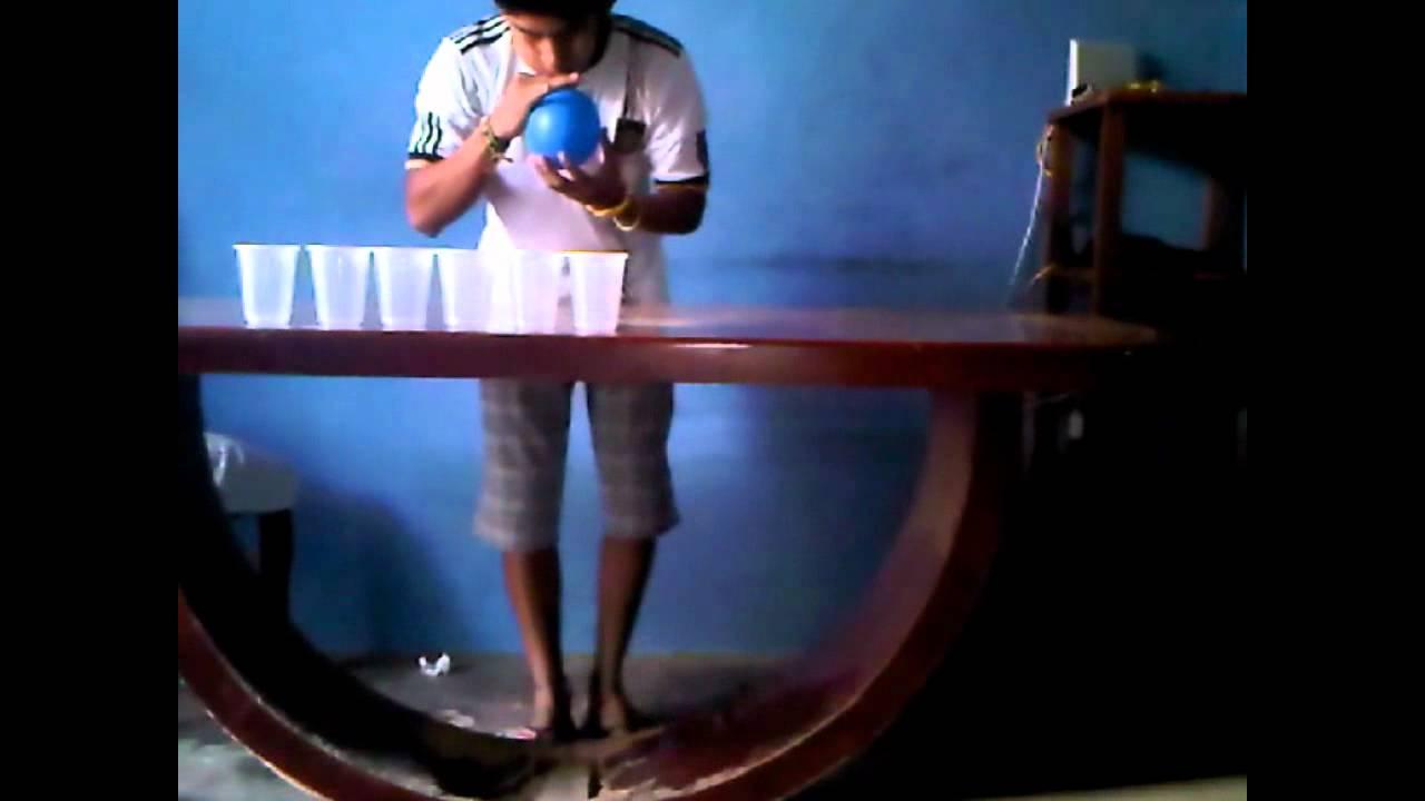 Globo Sopla Vasos Youtube