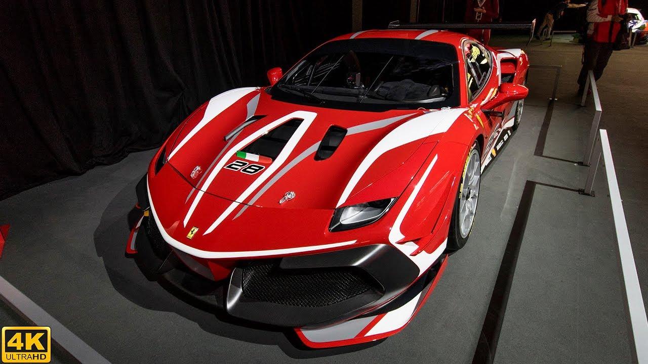 Ferrari 488 Challenge Evo Overview 2020 4k Youtube
