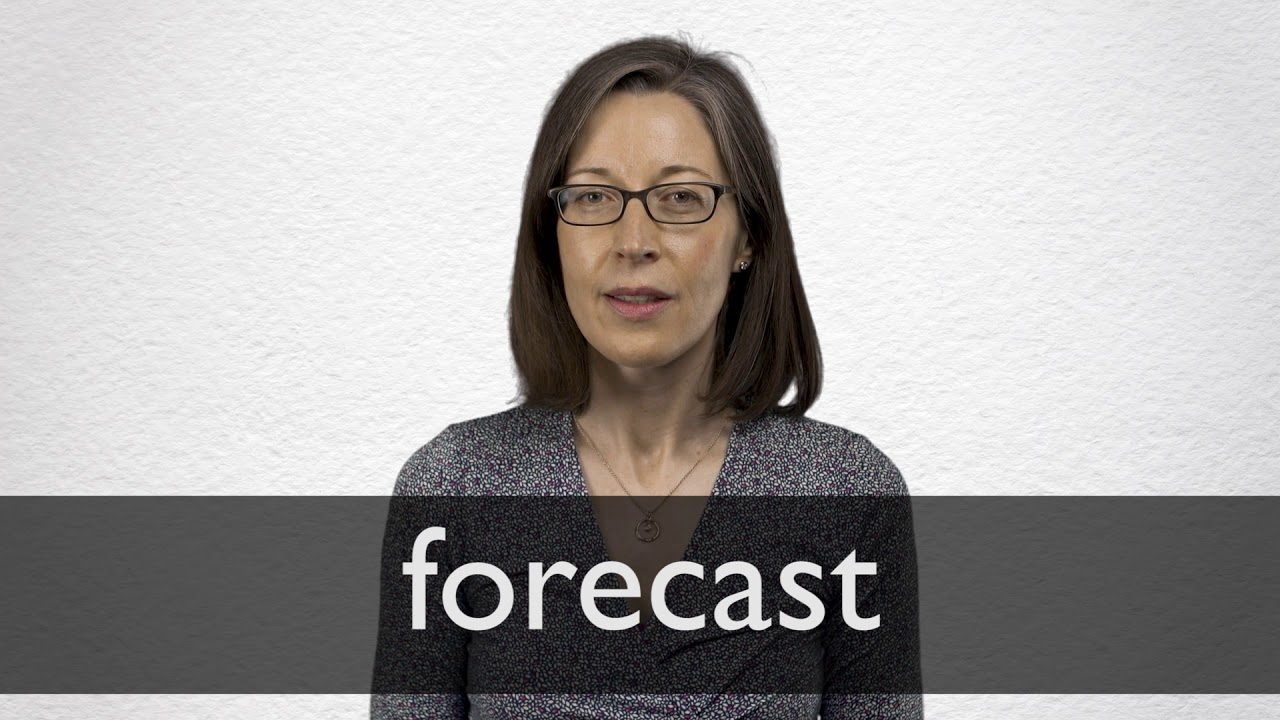 How to pronounce FORECAST in British English