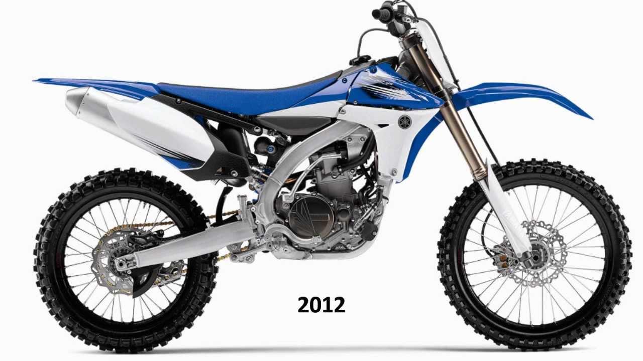 Yamaha Yz 450f Evolution 1998-2012